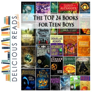 Top 24 Books for Teen Boys from Delicious Reads
